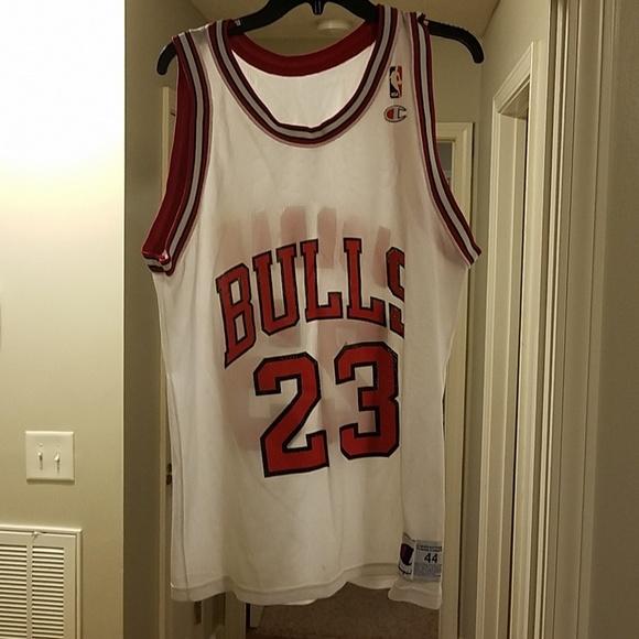 new style 882ea 29267 Michael jordan replica Champion Jersey